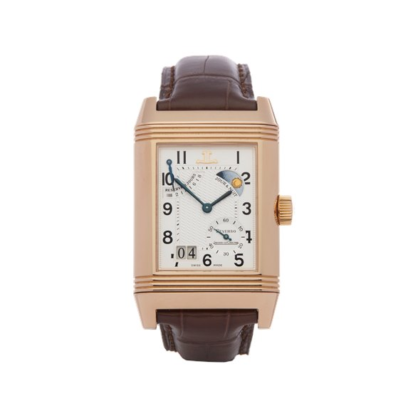 Jaeger-LeCoultre Grande Reverso Septantieme Limited Edition 18K Rose Gold - Q3002420 or 240.9.12