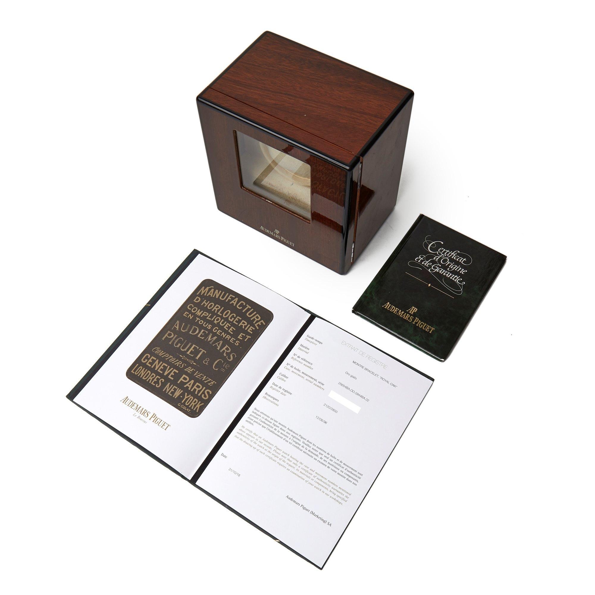Audemars Piguet Royal Oak Perpetual Calendar Tuscan Dial 1st Series 18K Yellow Gold - 25654BA.OO.0944BA.02 Yellow Gold 25654BA.OO.0944BA.02