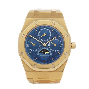 Audemars Piguet Royal Oak Perpetual Calendar Tuscan Dial 1st Series 18K Yellow Gold - 25654BA.OO.0944BA.02