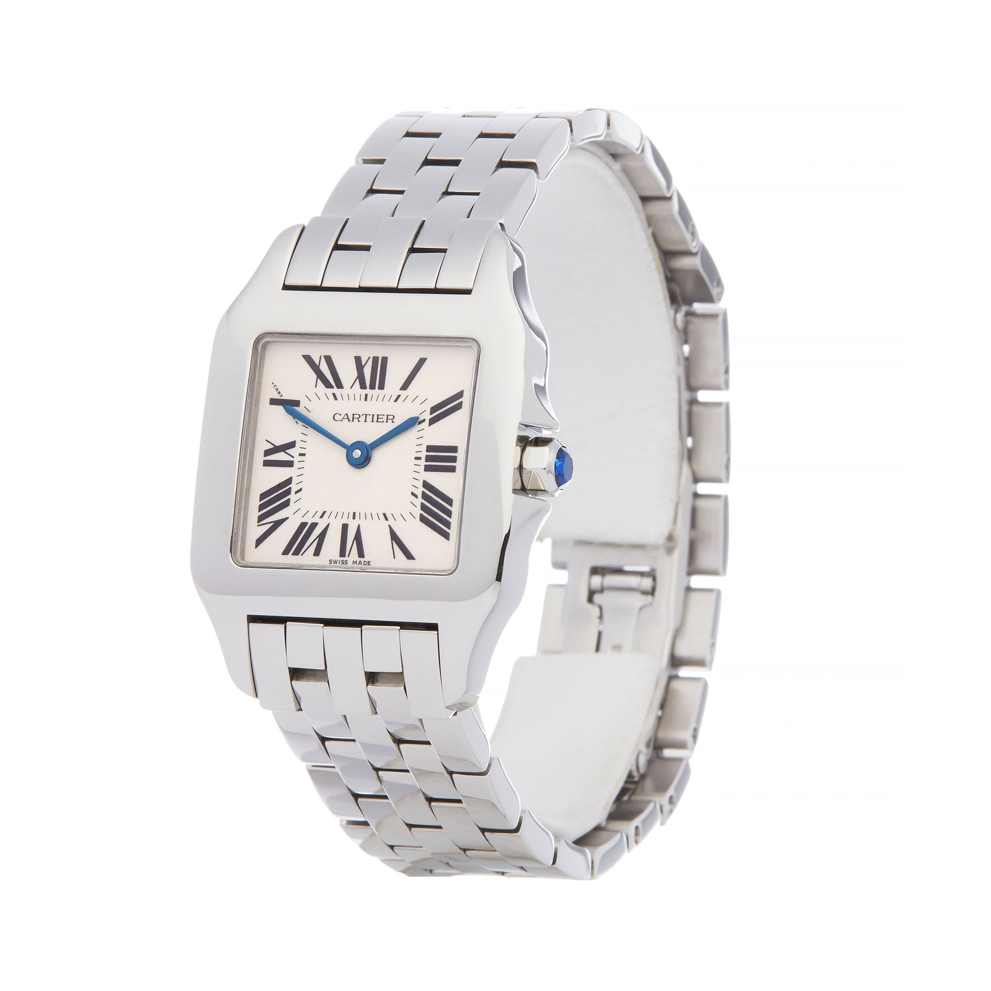 Cartier Santos Demoiselle Stainless Steel W25065Z5
