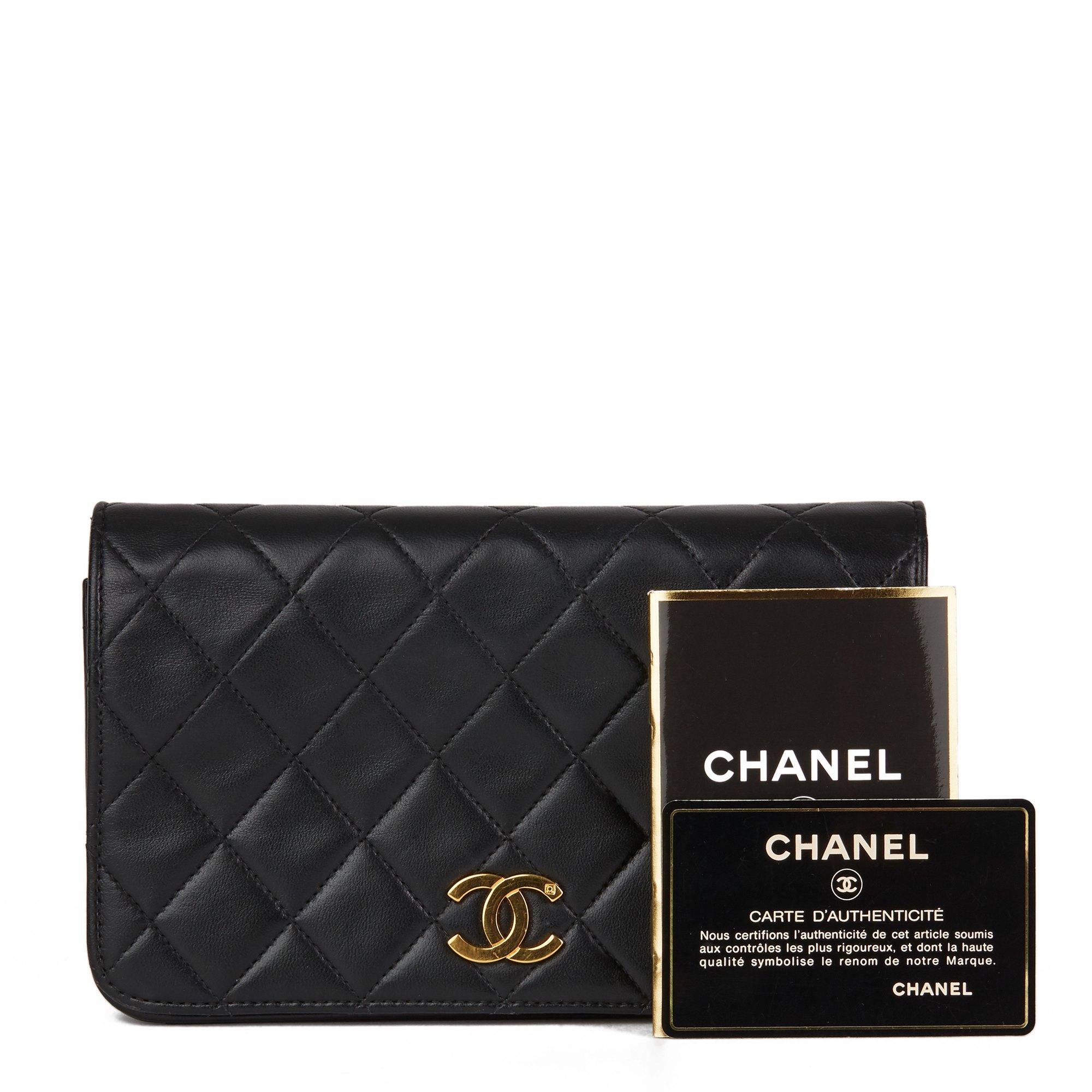 Chanel Black Lambskin Vintage Mini Flap Bag