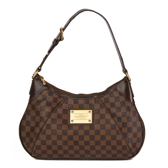 Louis Vuitton Brown Damier Ebene Monogram Coated Canvas Thames PM