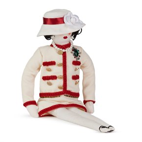 Chanel Fabric Coco Madamoiselle Doll by Karl Largerfeld