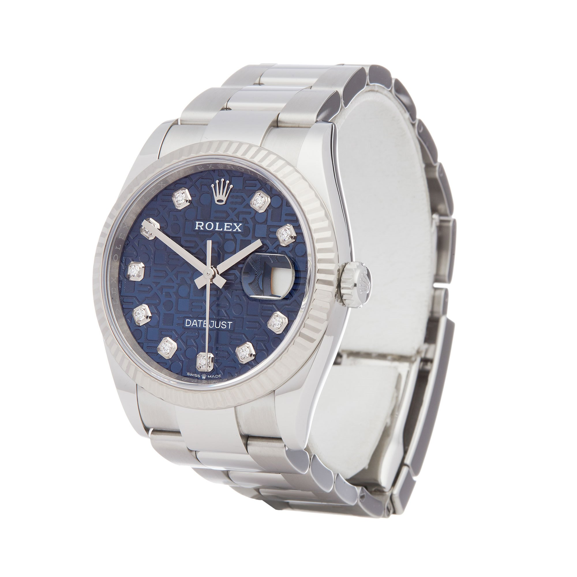 Rolex Datejust 36 18K Stainless Steel 126234