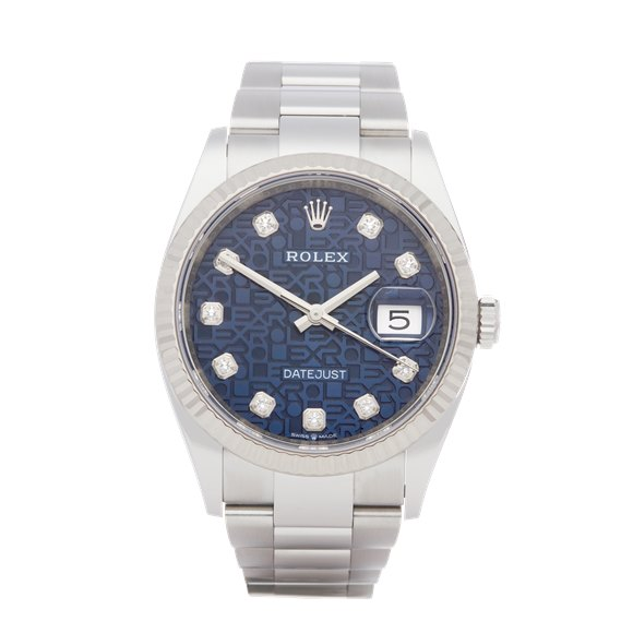 Rolex Datejust 36 18K Stainless Steel - 126234