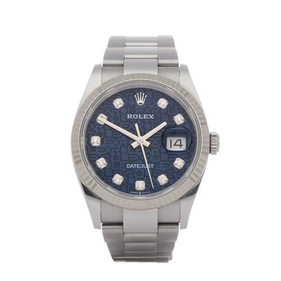 Rolex Datejust 36 18K Stainless Steel - 126234