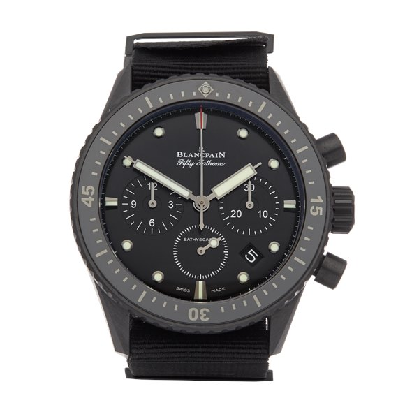 Blancpain Fifty Fathoms Bathyscaphe Flyback Chronograph Ceramic - 5200-0130-B52A