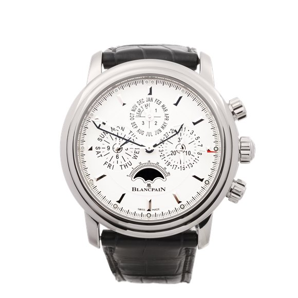 Blancpain Leman Perpetual Calendar Flyback Chronograph Stainless Steel - 2685F-1127-53B