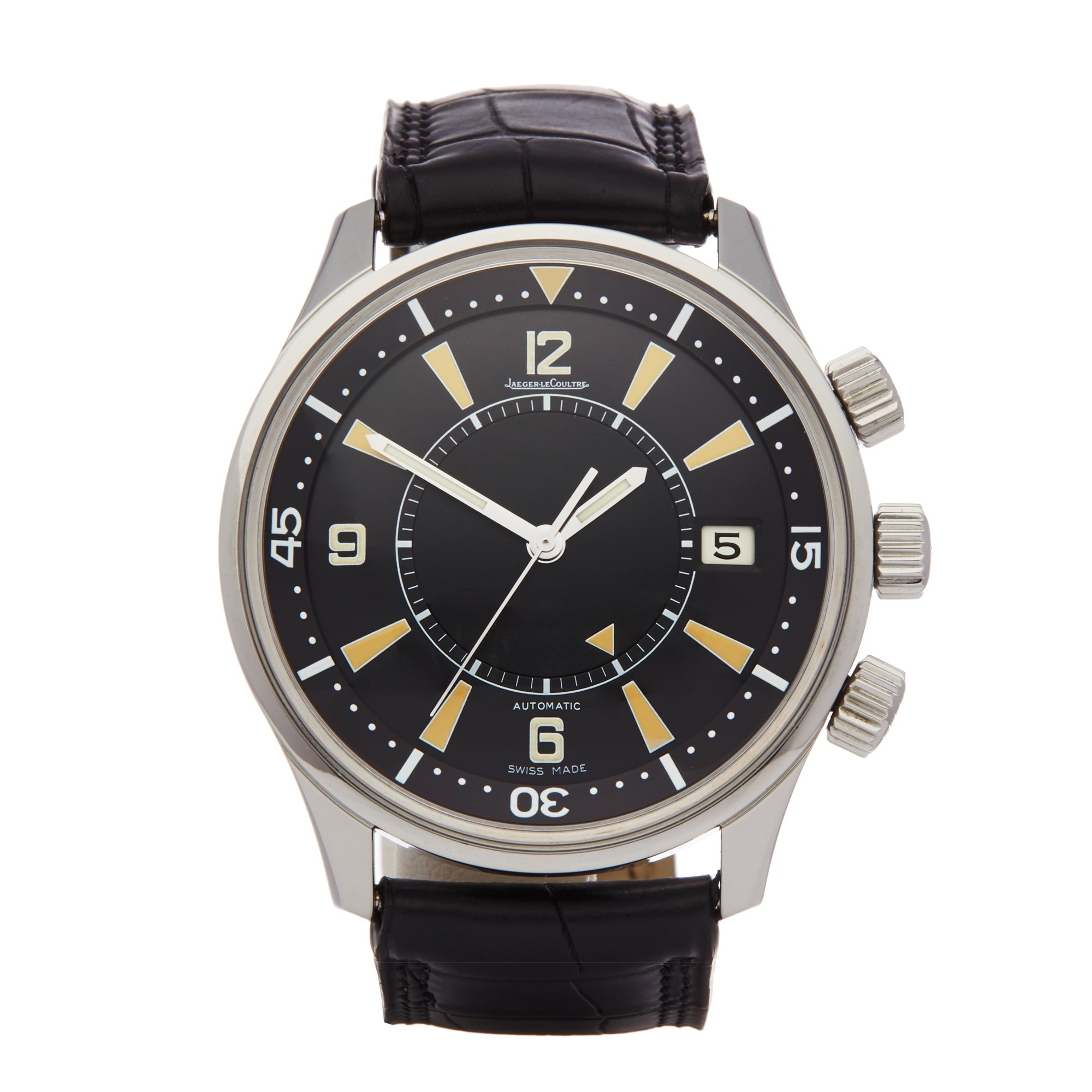 Jaeger-LeCoultre Memovox Polaris Limited Edition of 768 Pieces Stainless Steel - Q2008470 or 190.8.96 Roestvrij Staal Q2008470 or 190.8.96