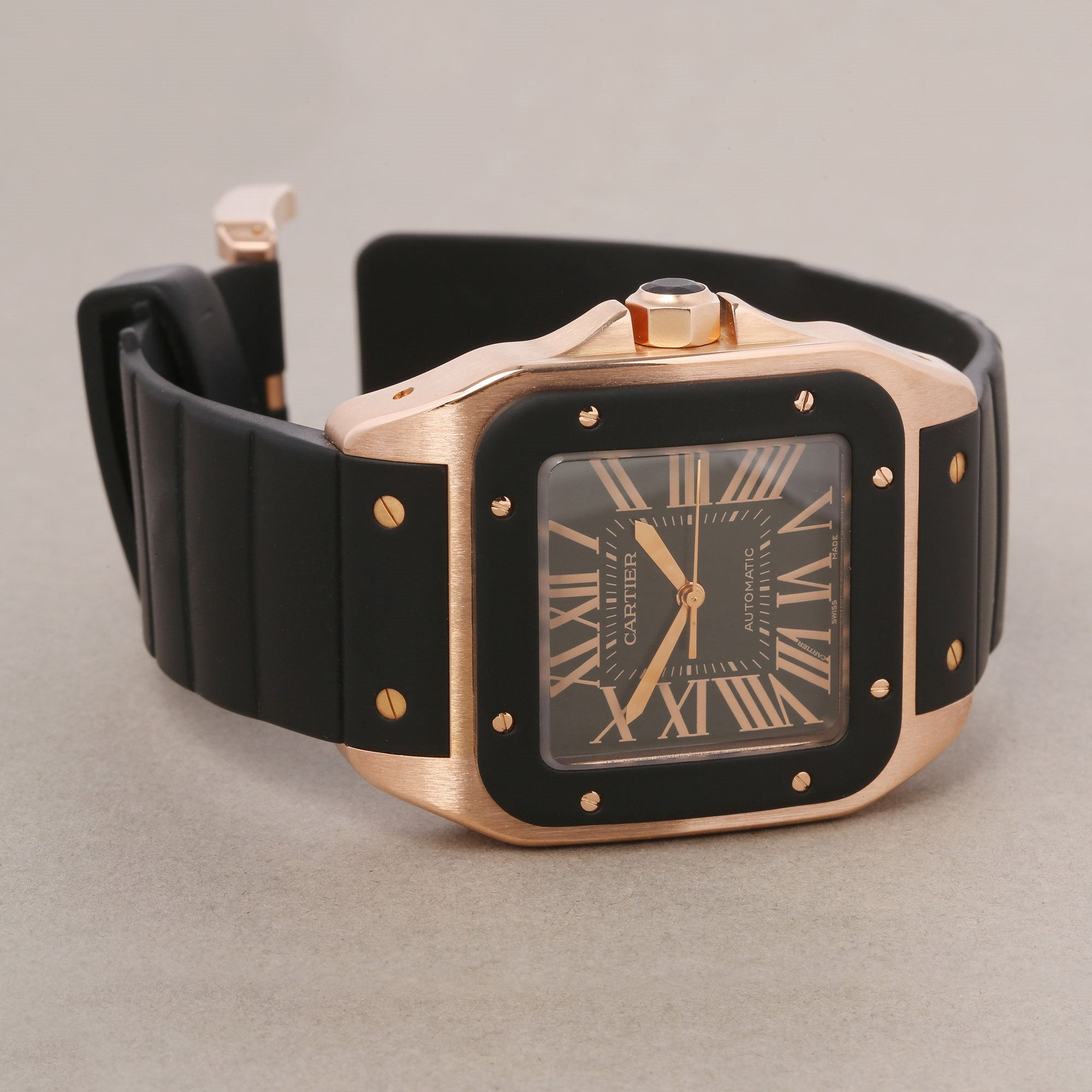 Cartier Santos 100 XL Rose Gold W20124U2 or 2792