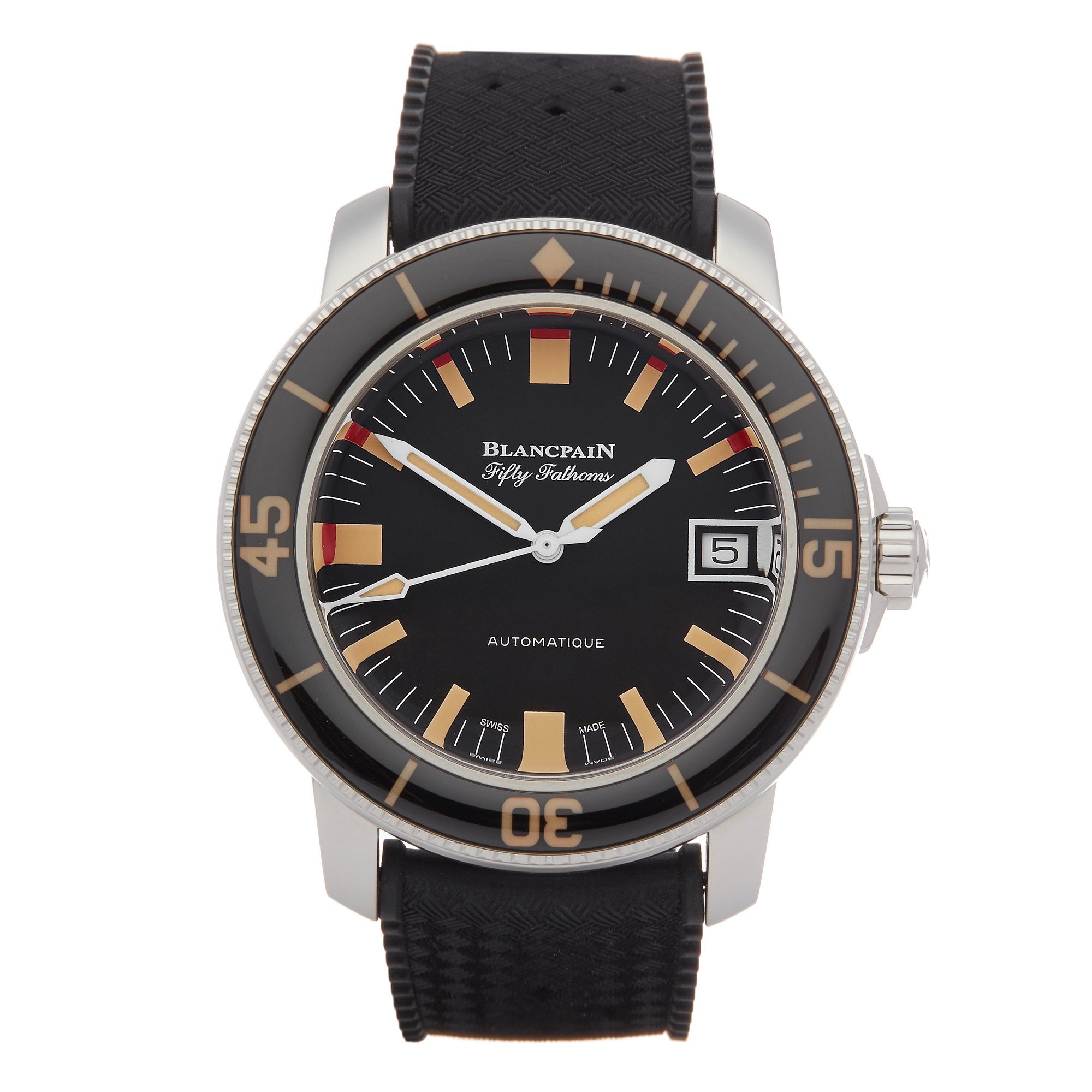 Blancpain Fifty Fathoms Barakuda Limited Edition 415/500 Stainless Steel 5008B-1130-B52A