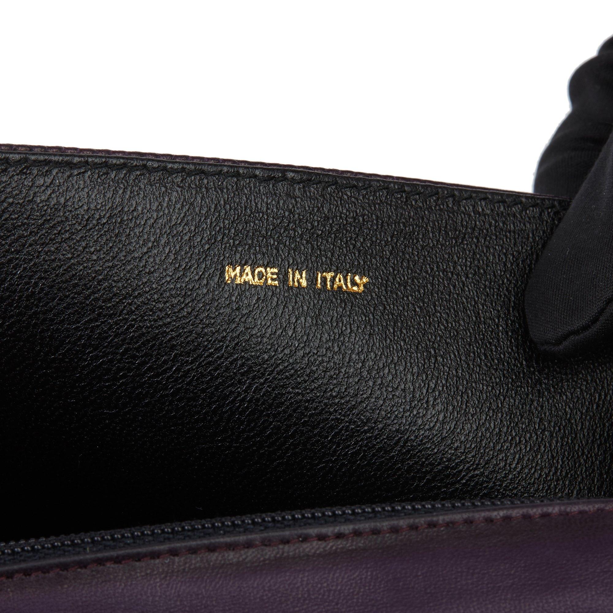 Chanel Purple Lambskin Vintage Timeless Single Flap Bag