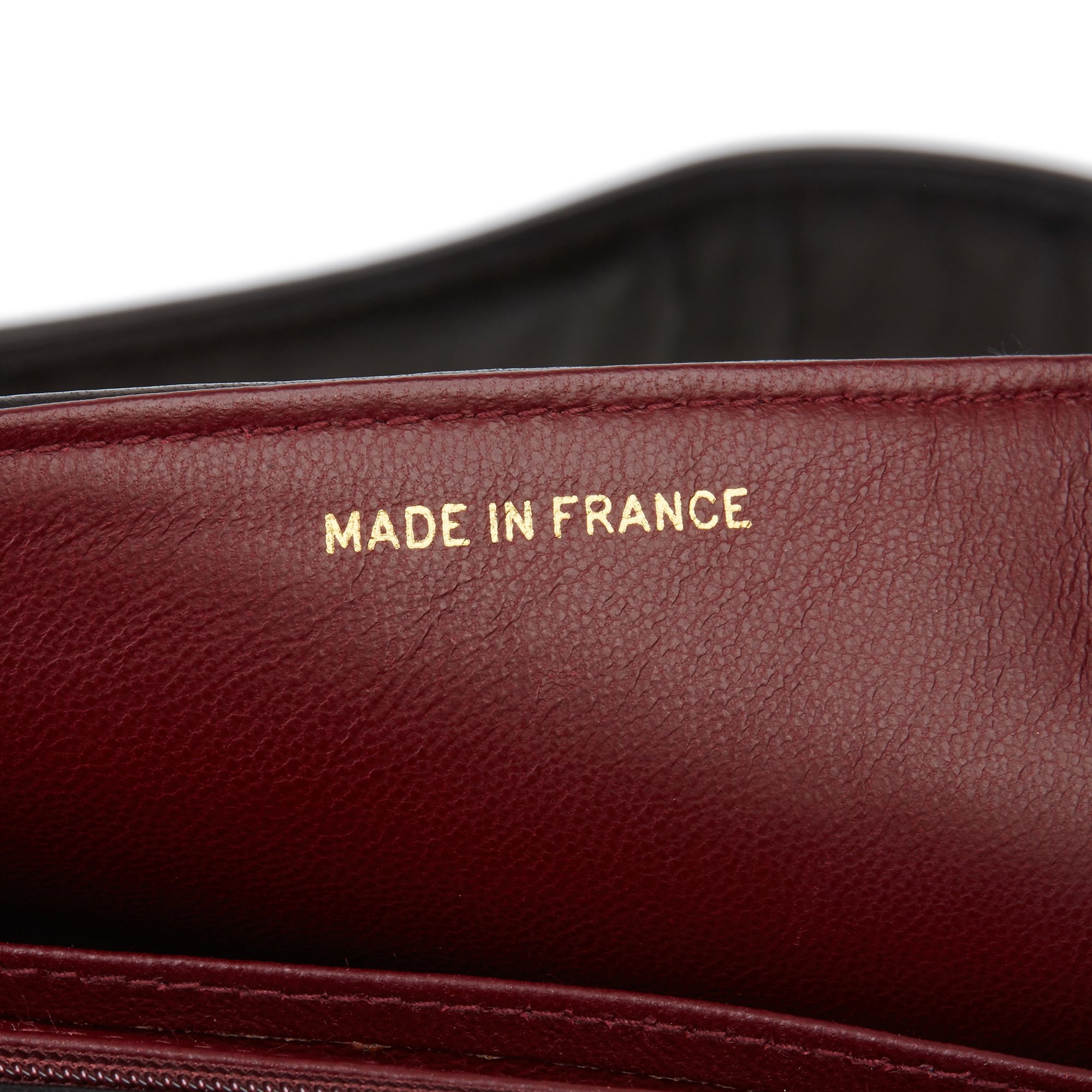 Chanel Black Vertical Quilted Lambskin Vintage Leather Logo Shoulder Flap Bag