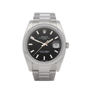 Rolex Datejust 34 Stainless Steel - 115200