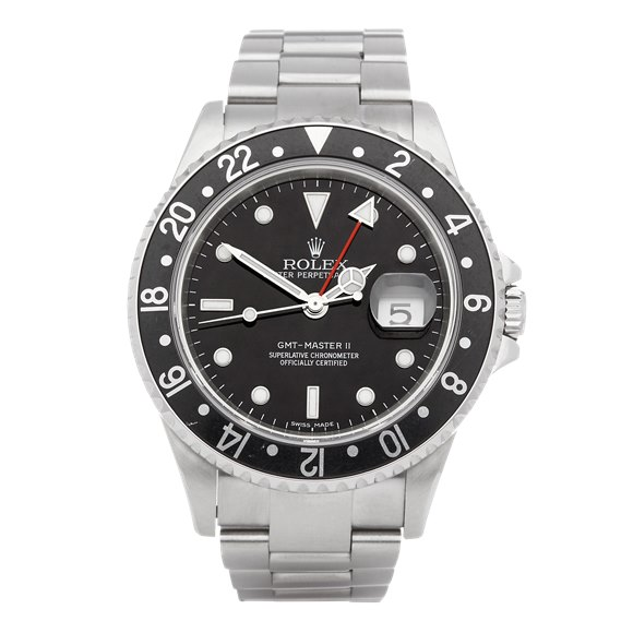 Rolex GMT-Master II Stick Dial Stainless Steel - 16710