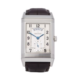 Jaeger-LeCoultre Grande Reverso 986 Duo Night & Day Stainless Steel - Q3748421 or 273.8.85
