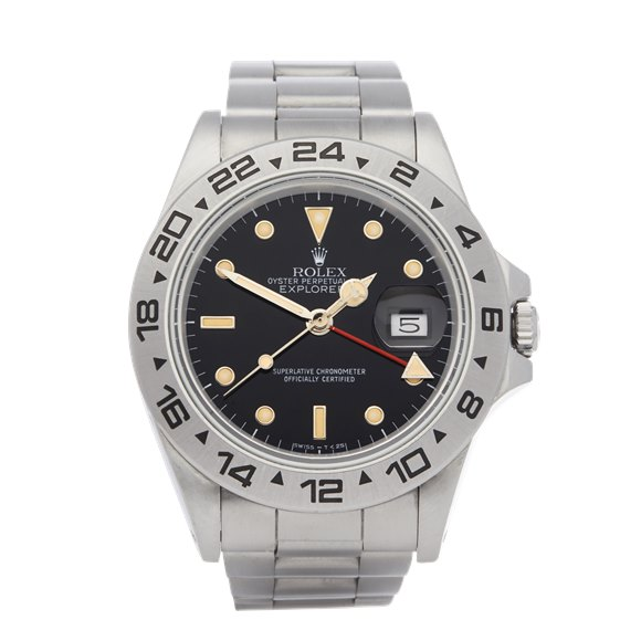 Rolex Explorer II Stainless Steel - 16550