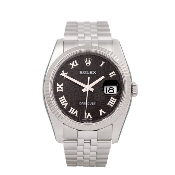 Rolex Datejust 36 Jubilee Dial Stainless Steel - 116234