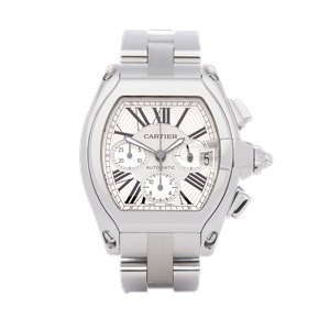 Cartier Roadster Chronograph Stainless Steel - 2618 or W62019X6