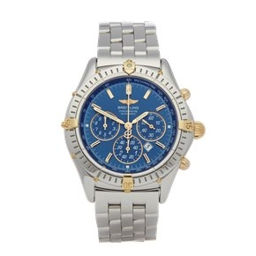Breitling Shadow Flyback Chronograph Limited Edition Stainless Steel & Yellow Gold - B35312