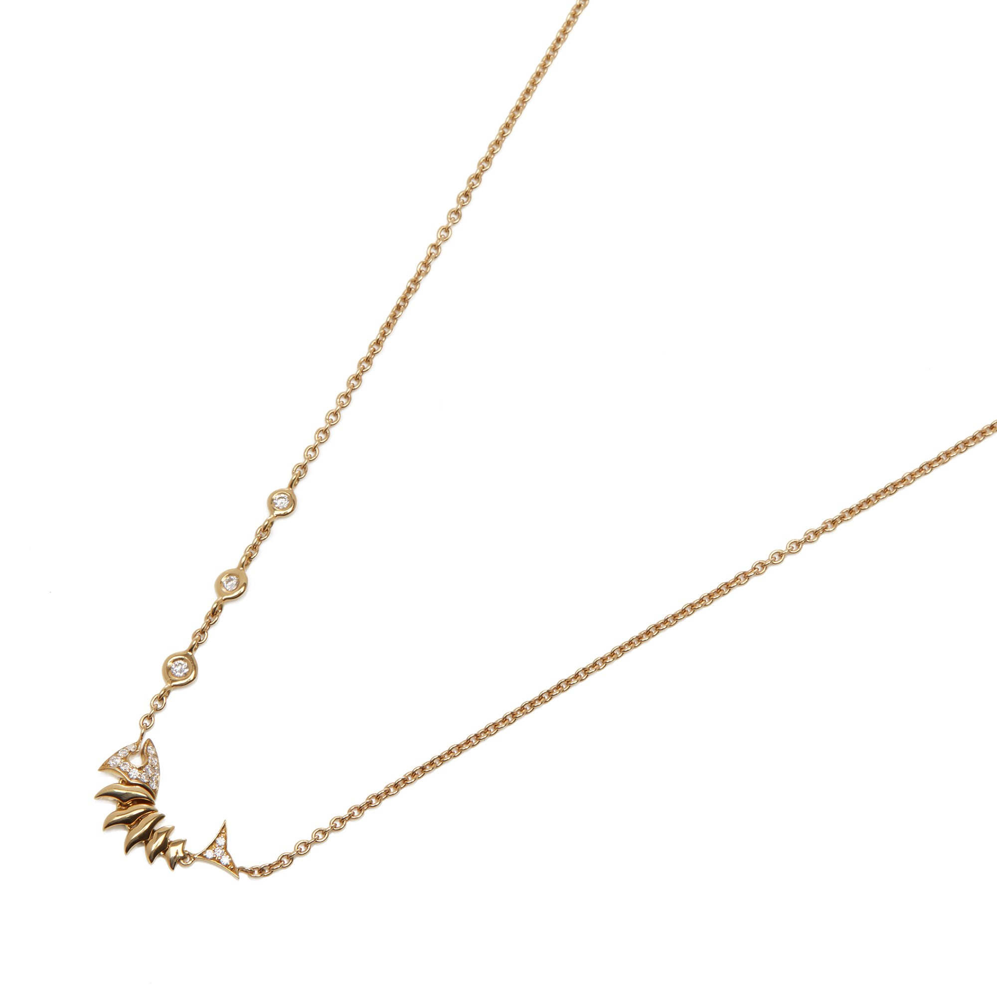 Stephen Webster Jewels Verne 18ct Yellow Gold Diamond necklace