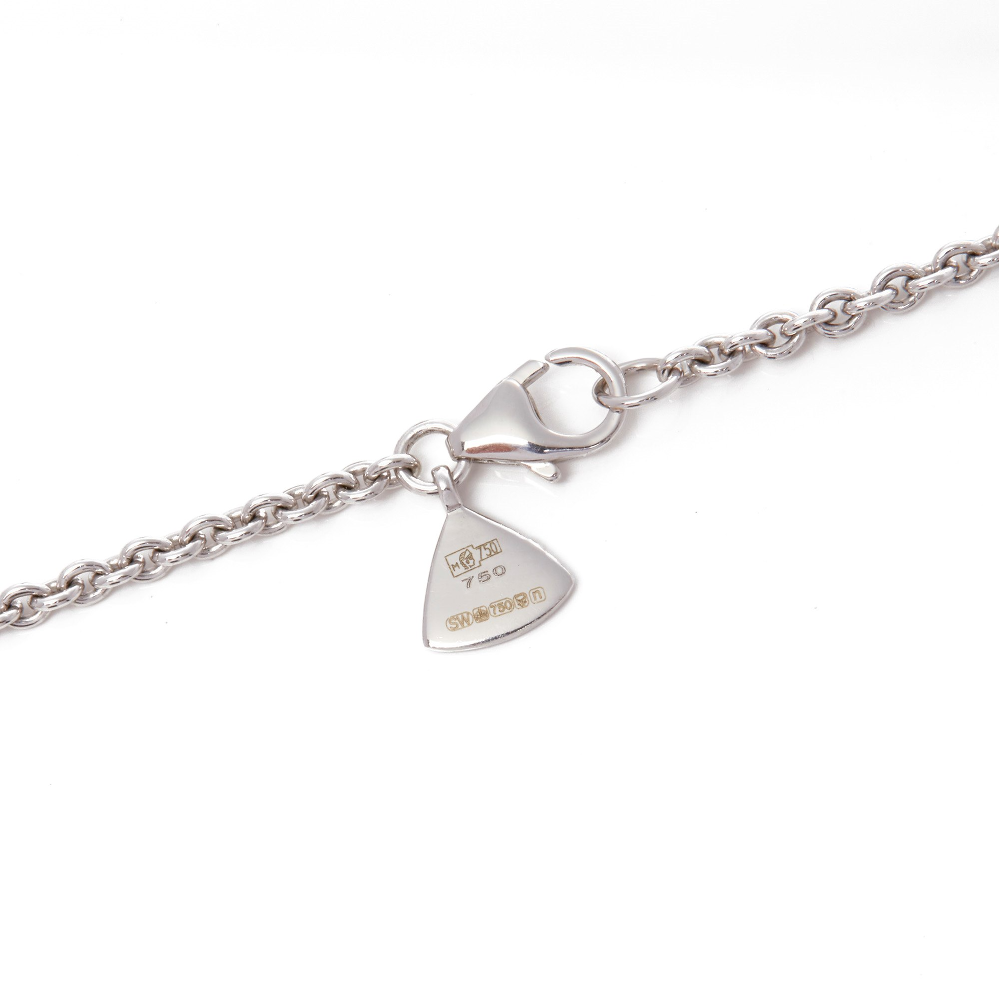 Stephen Webster Deco Haze 18ct Gold Diamond and Hematite Quartz Crystal Haze Necklace