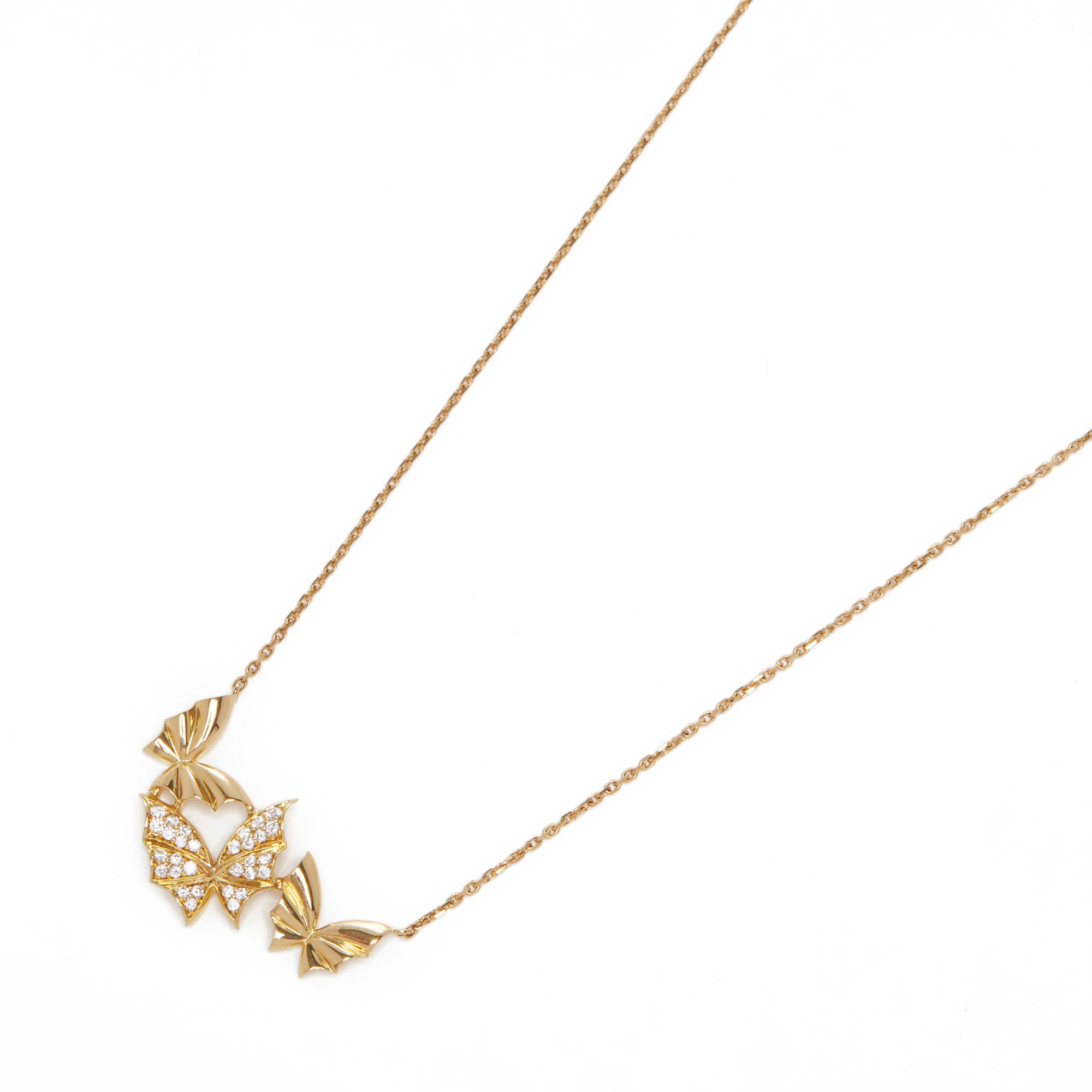 Stephen Webster Fly by night 18ct Yellow Gold Diamond Necklace