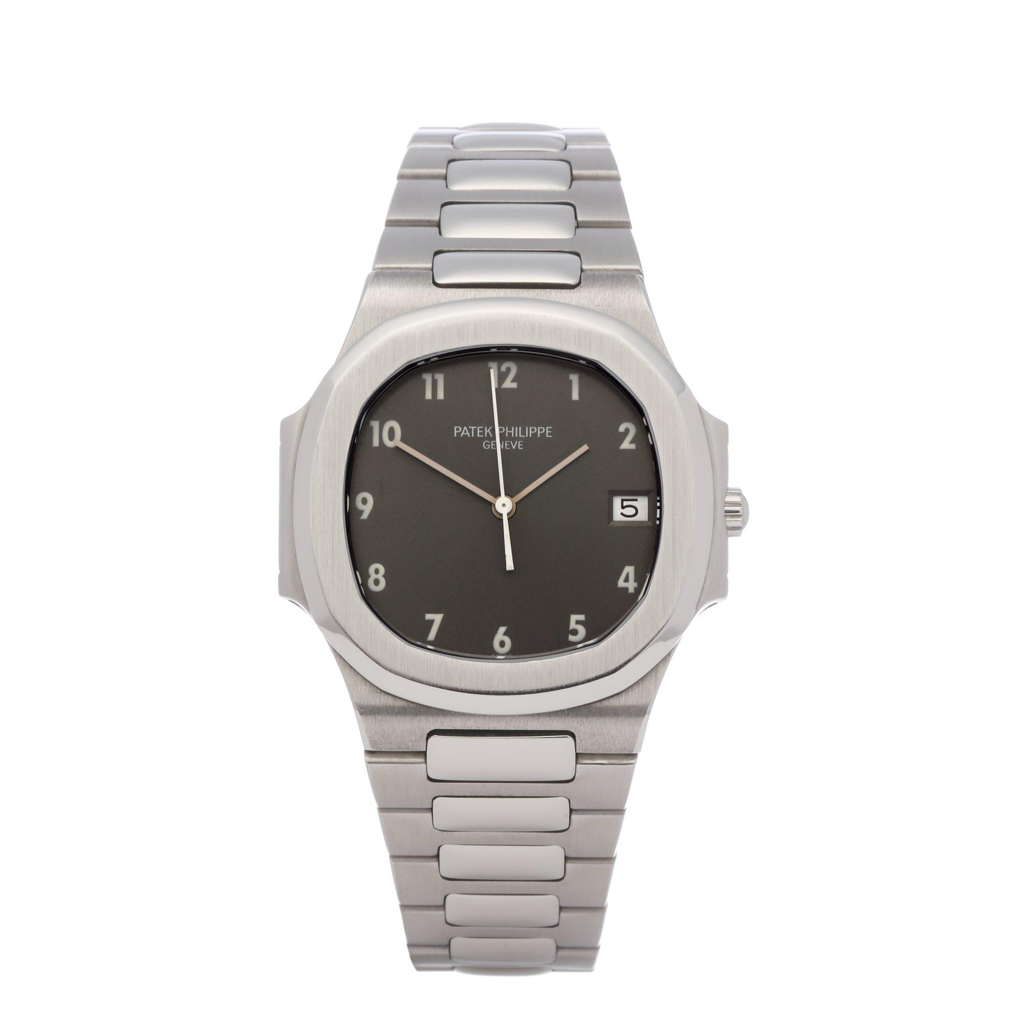Patek Philippe Nautilus Rare Grey Dial Stainless Steel 3900