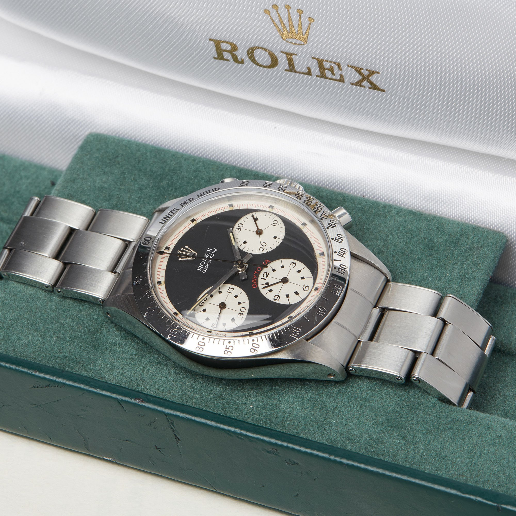 Rolex Daytona Paul Newman Cosmograph Early Mark I Stainless Steel - 6239 Stainless Steel 6239