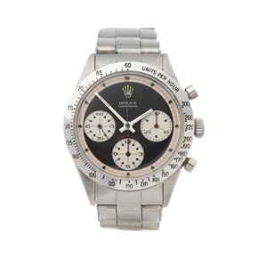Rolex Daytona Paul Newman Cosmograph Early Mark I Stainless Steel - 6239