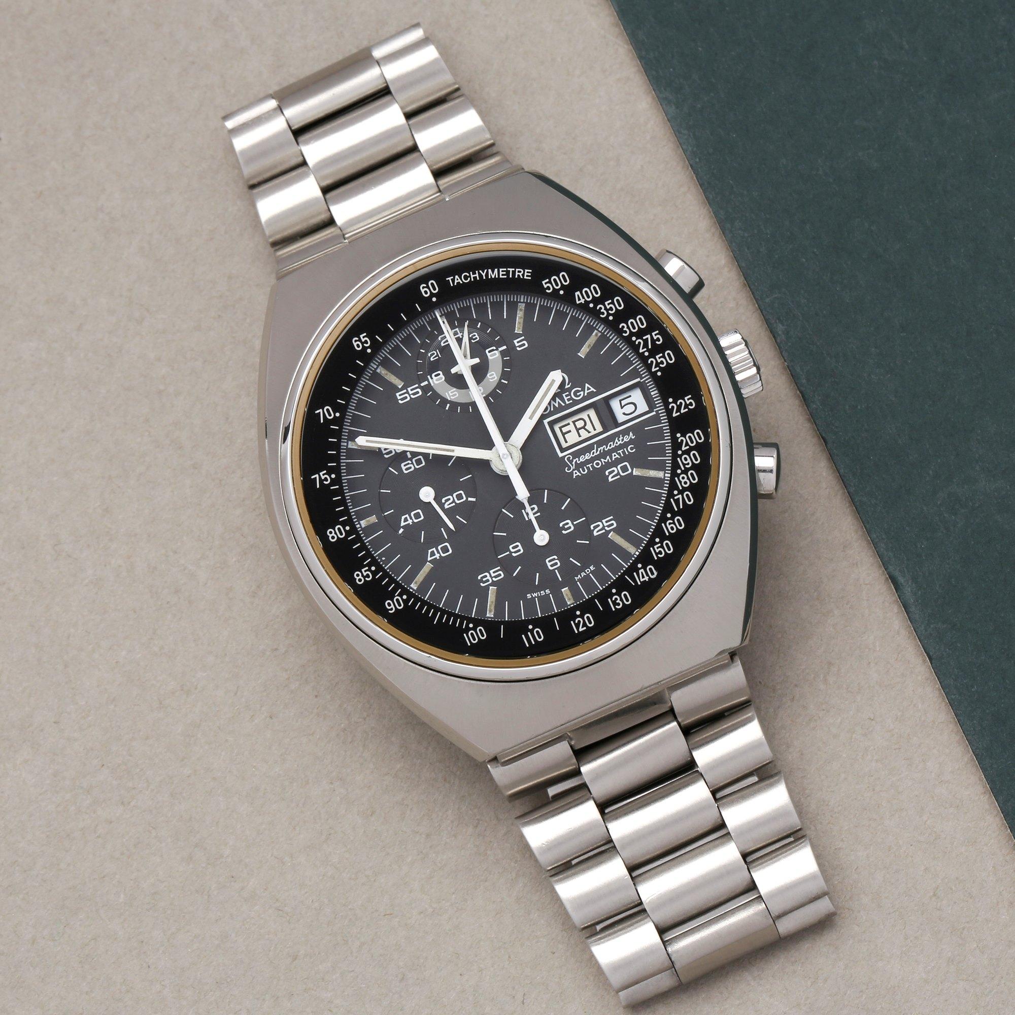 Omega Speedmaster Mark 4.5 Chronograph Stainless Steel - 176.0012 Roestvrij Staal 176.0012