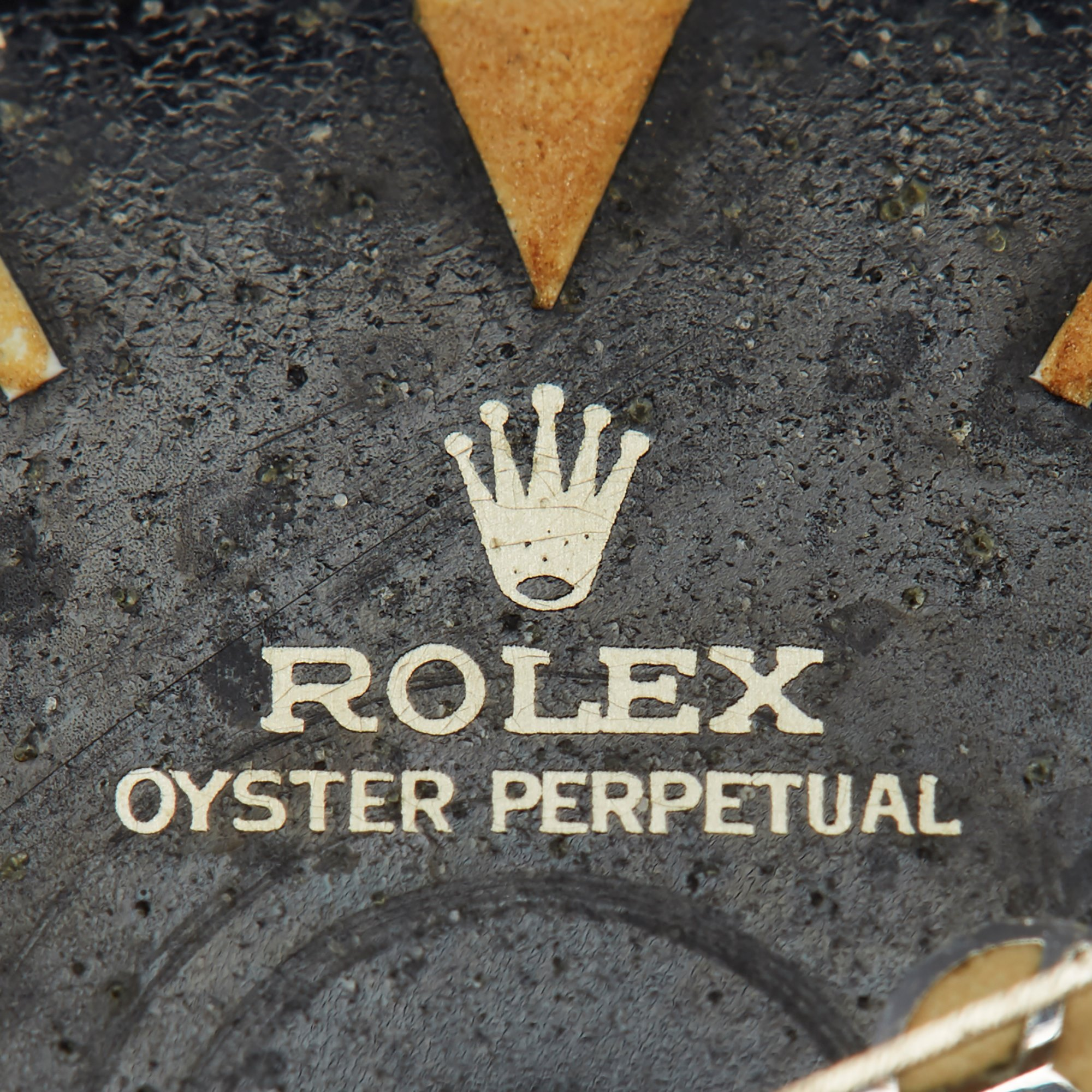 """Rolex Submariner Gilt Explorer """"Kissing L"""" Dial Stainless Steel - 5513 Roestvrij Staal 5513"""