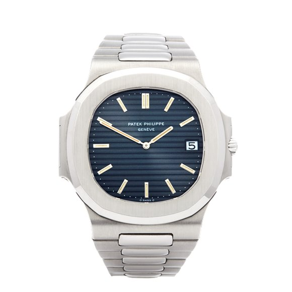 "Patek Philippe Nautilus Unpolished Rare ""II"" Serial Stainless Steel - 3700/11"