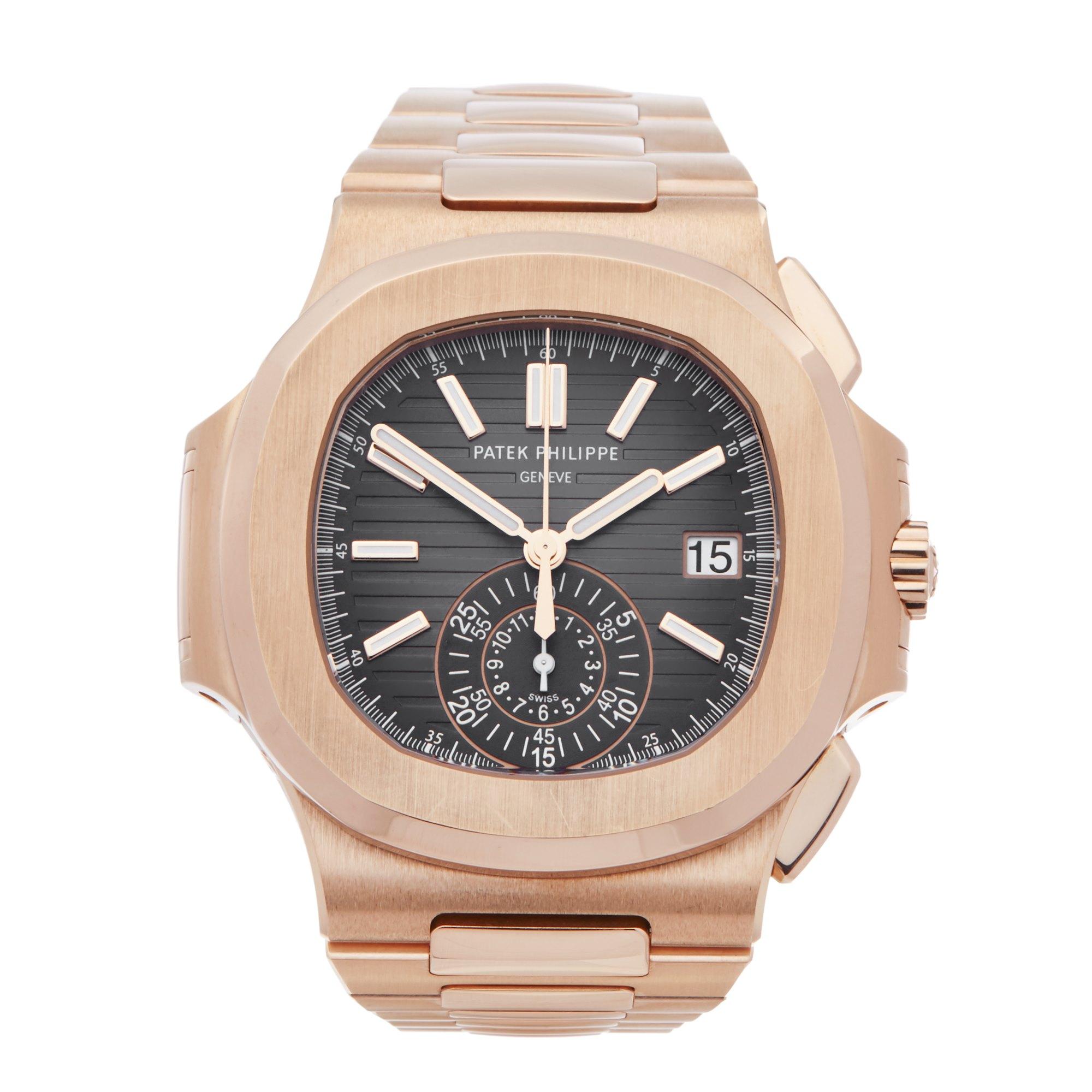 Patek Philippe Nautilus 18K Rose Gold 5980R/1R-001