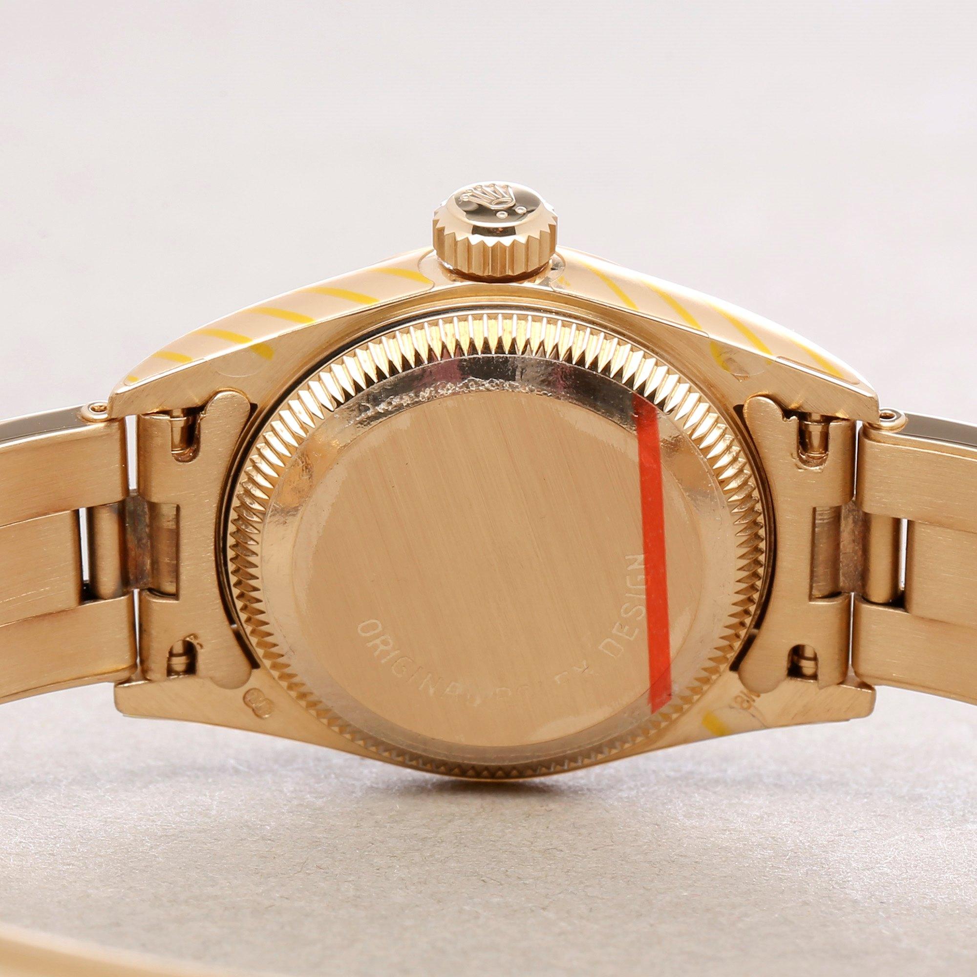 Rolex Oyster Perpetual 26 NOS 18K Geel Goud 67188