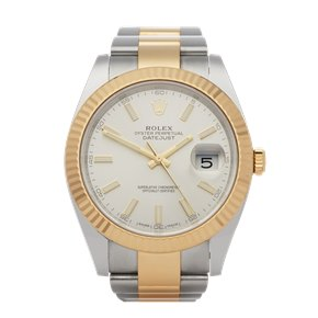Rolex Datejust 41 Partially Stickered NOS 18K Yellow Gold & Stainless Steel - 126333