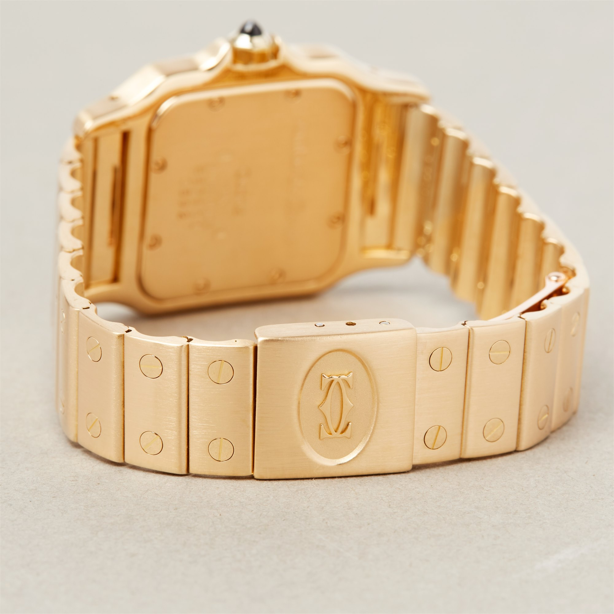 Cartier Santos Galbee Large 18K Yellow Gold 0592