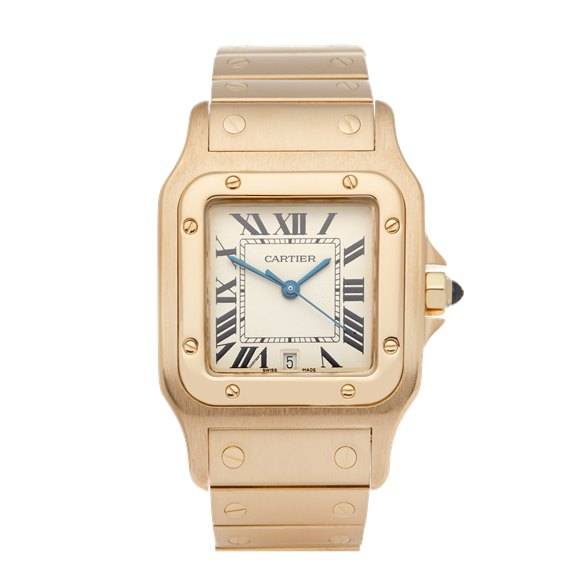 Cartier Santos Galbee Large 18K Yellow Gold - 0592