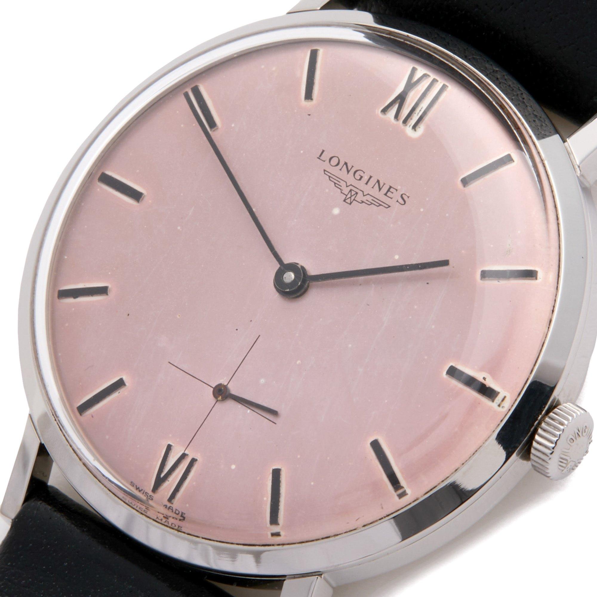 Longines Vintage Stainless Steel 78551