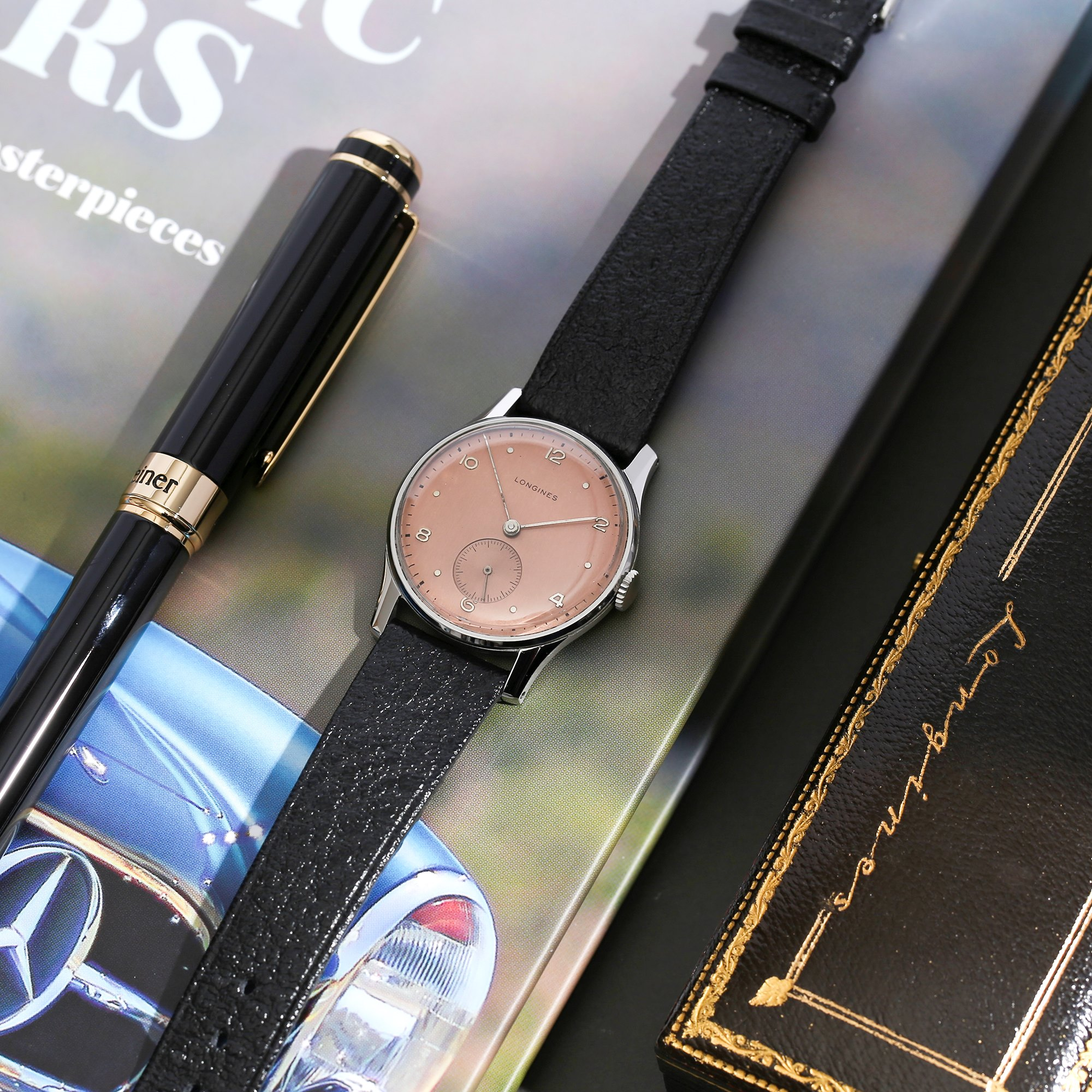 Longines Vintage Roestvrij Staal 23M