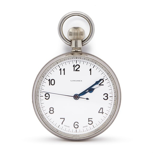 Longines  Pocket Watch Stainless Steel - 19.70N
