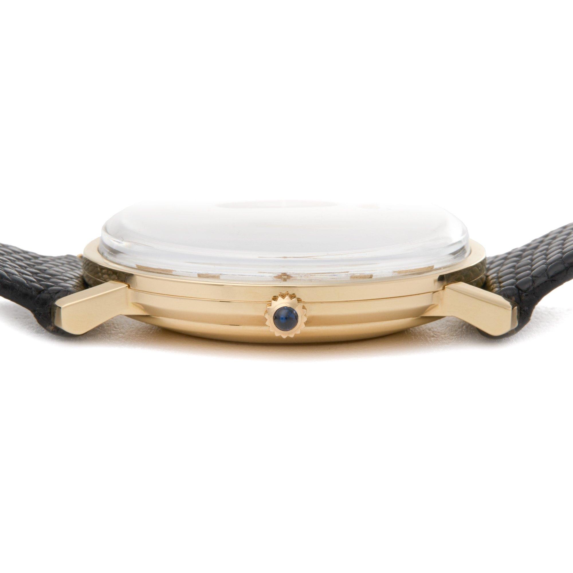 Corum Vintage 18K Yellow Gold ETA 2824 3adj