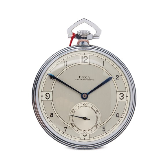 Doxa  Pocket Watch Stainless Steel