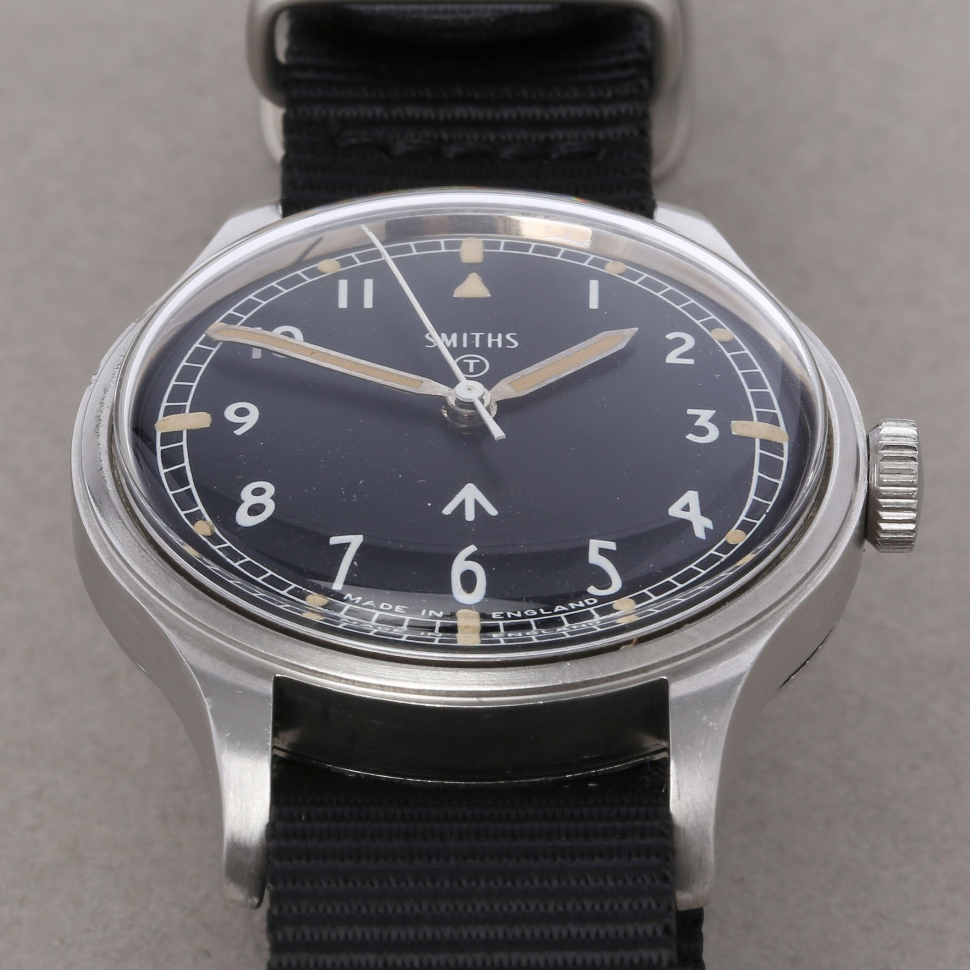 Smiths Vintage W10 Military Stainless Steel 89