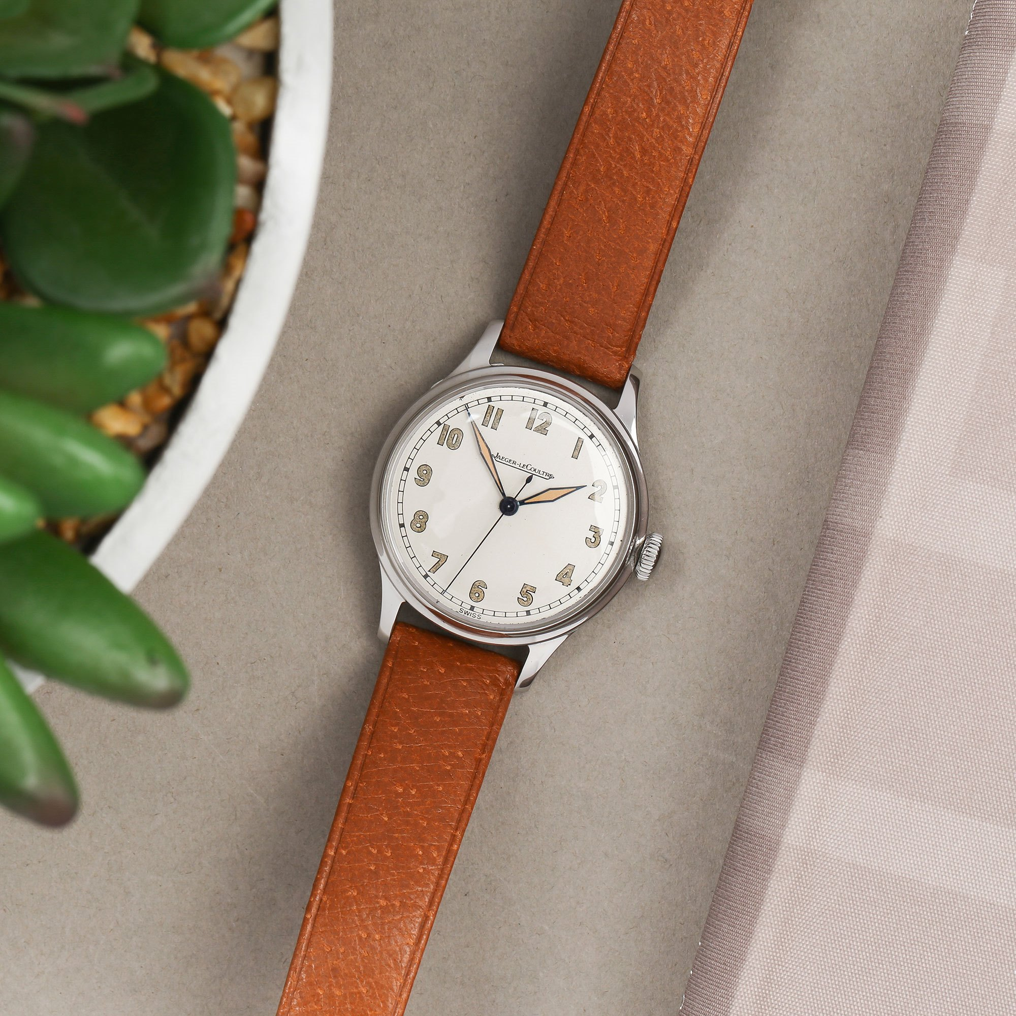 Jaeger-LeCoultre Vintage Stainless Steel P.478