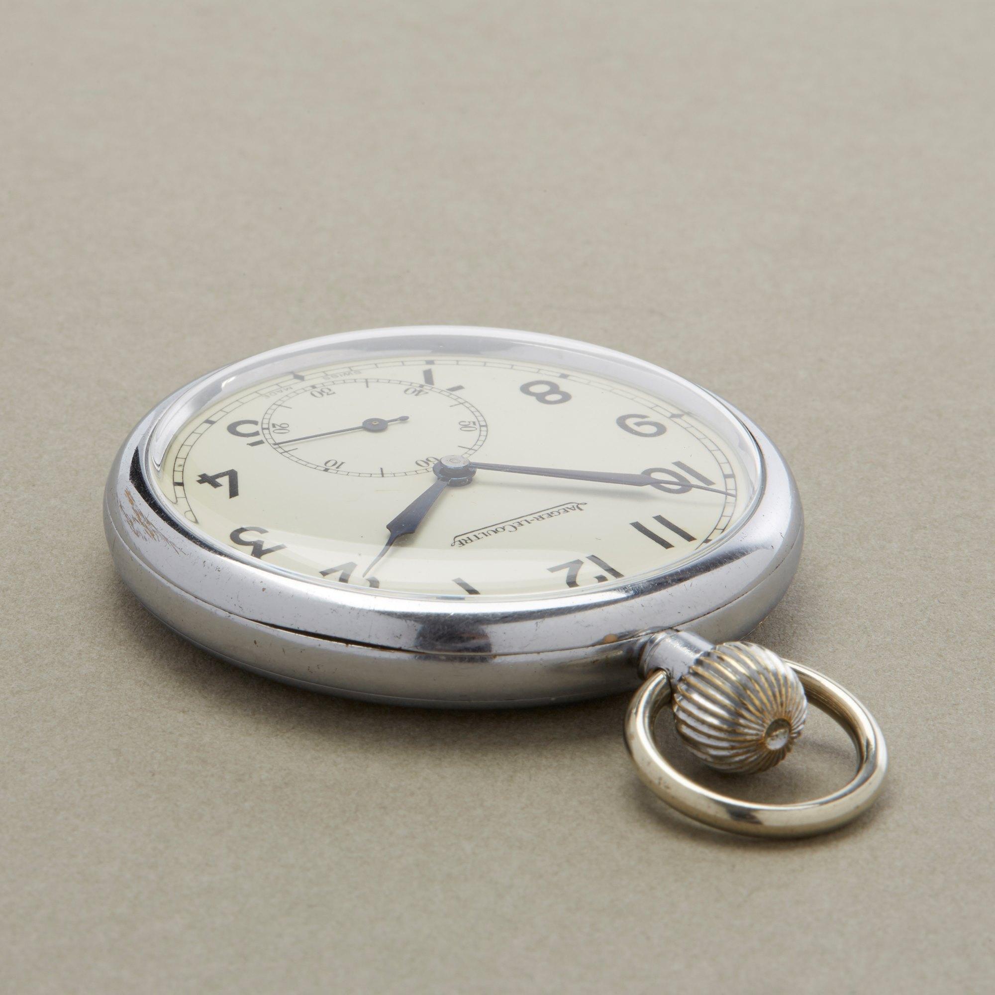 Jaeger-LeCoultre Pocket Watch Navigators 6E/50 Stainless Steel 467/2