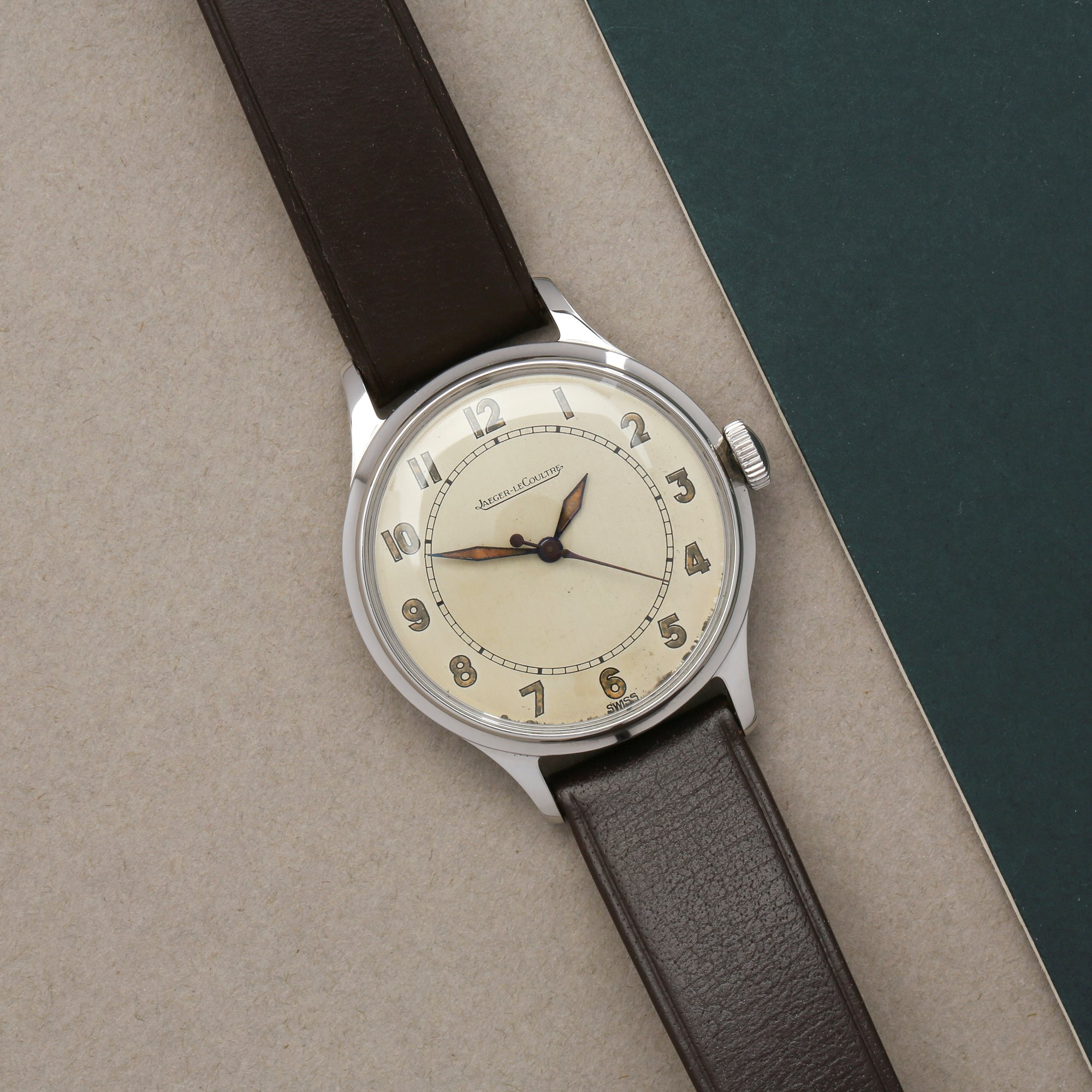 Jaeger-LeCoultre Vintage Roestvrij Staal P478