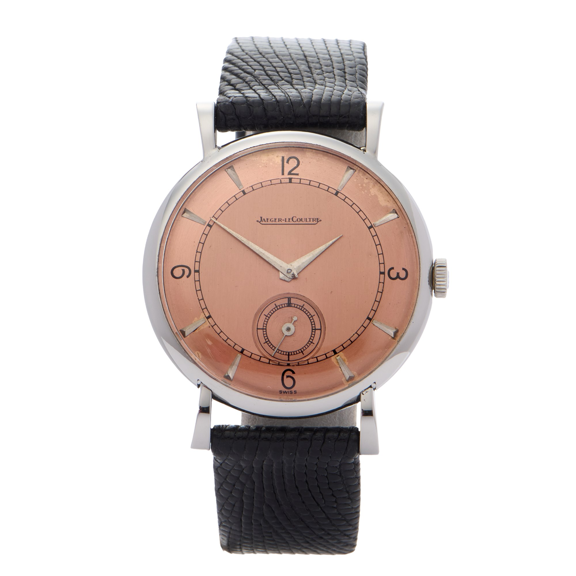 Jaeger-LeCoultre Vintage Stainless Steel 428