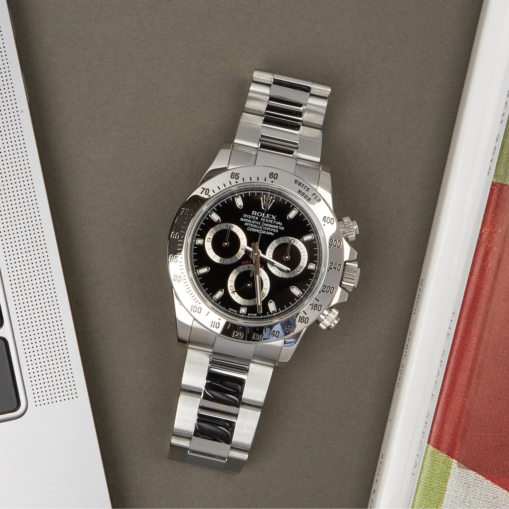 Rolex Daytona Cosmograph APH Dial Stainless Steel 116520