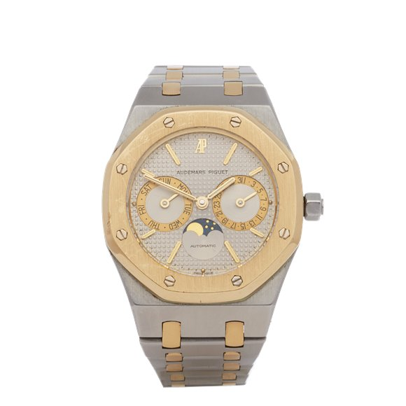 Audemars Piguet Royal Oak Day-Date Moon Phase 18K Stainless Steel & Yellow Gold - 25594SA